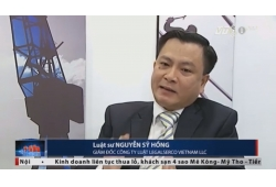 VTC1 Real Estate 24H News of VTC Television & Broadcasting interviews Managing Partner of Legalserco Vietnam LLC