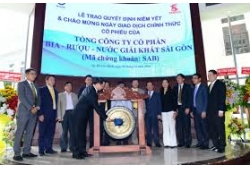 SABECO (VIETNAM), THAIBEV (THAILAND) Sai Gon Beer Alcohol Beverage Joint Stock Company (SABECO) is officially listed on Ho Chi Minh Stock Exchange